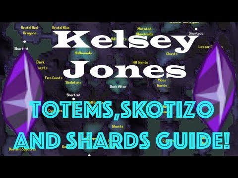 Old School Runescape Skotizo Ancient Shard Totem Guide Youtube