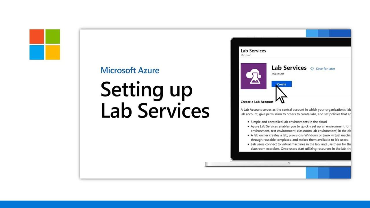 Microsoft Azure - Setting up Lab Services