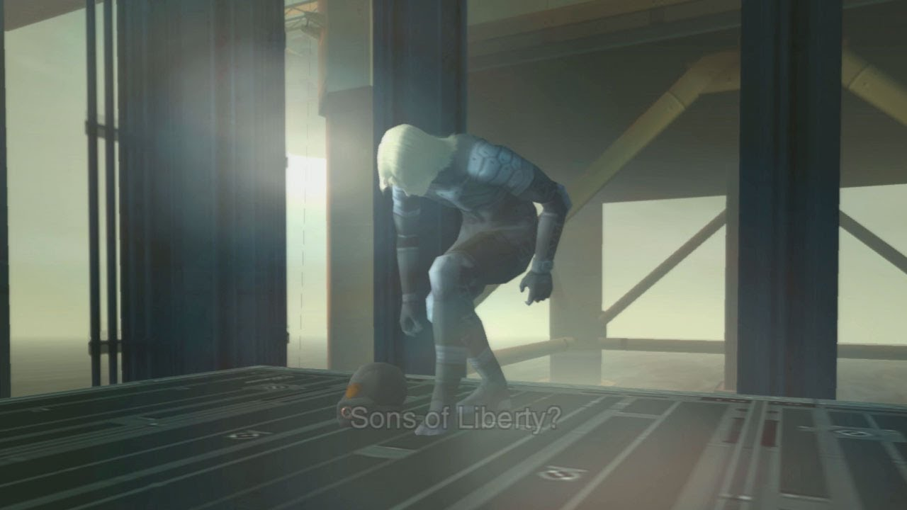 Raiden Mgs2 Hd Metal Gear Solid 2 HD ...