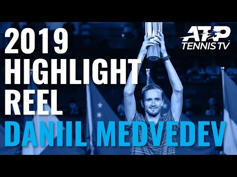 DANIIL MEDVEDEV: 2019 ATP Highlight Reel