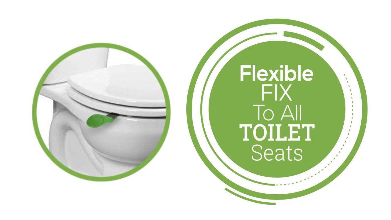 LIFT UP Toilet Seat Handle - YouTube