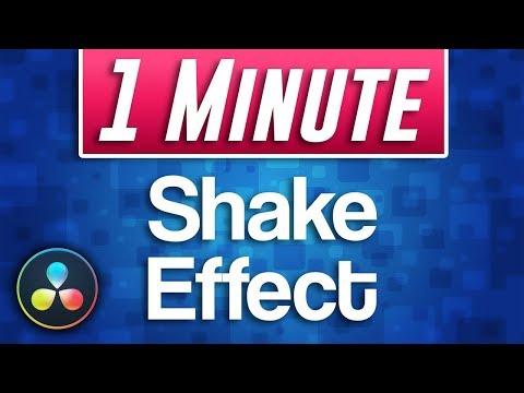 Davinci Resolve 15 - How to do Camera Shake Effect