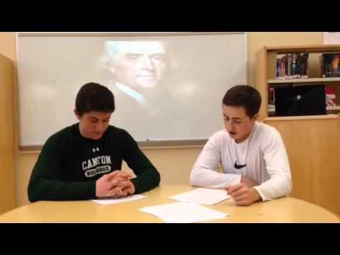 Washington's first administration: josh dan mike and jackson