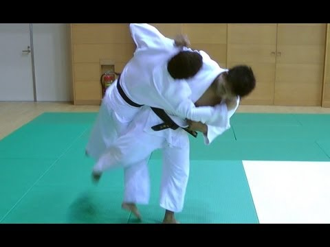 Judo - Osoto Gari - 大外刈