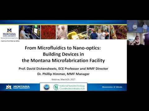 MONT Webinar: From Microfluidics to Nano-Optics
