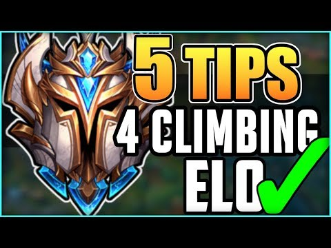 5 Challenger Tips to Climb Ranked Elo FAST & EFFICIENTLY | Season 9 Ranked League of Legends