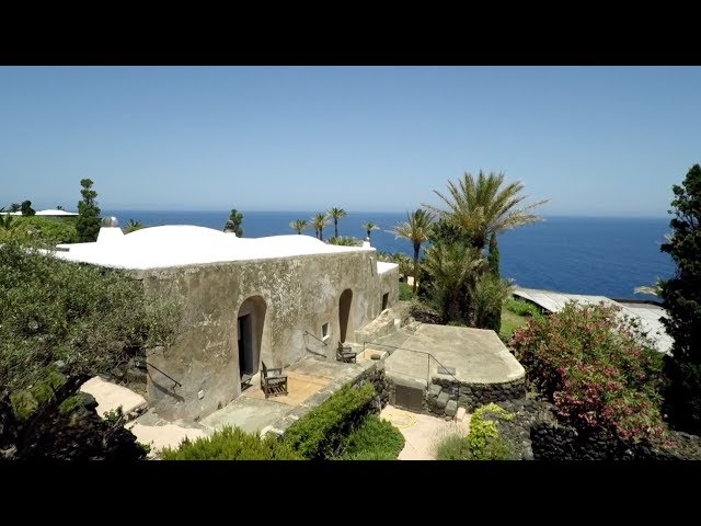 Giorgio Armani's holiday home in Pantelleria - seen by Cartography Magazine