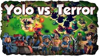 MAX Yolo vs. Dr. Terror! | BOOM BEACH | Full Boost - Challenge! (Deutsch / German) | xHeaven