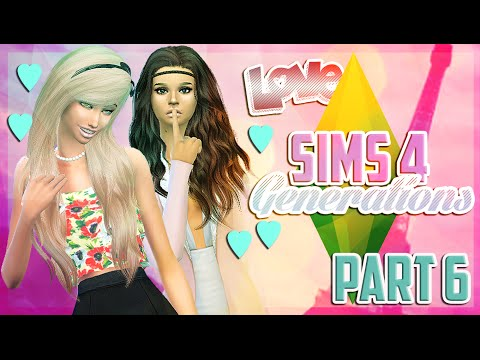 Let's Play The Sims 4: Generations - (Part 6) - Sofia and Diana Night Out!!!!