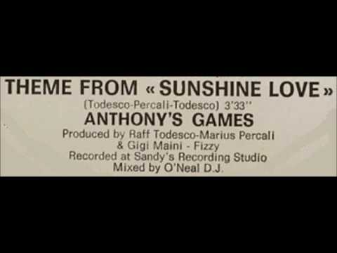Anthony´s Games - Theme from Sunshine love 1985