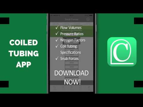 Coiled Tubing Mobile App