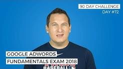 Google AdWords Fundamentals Exam 2018