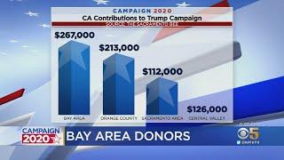 Bay Area Tops California Regions Donating To Trump 2020 Campaign