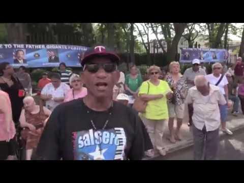 Nayibe La Gitana Desde  Colombia Con  Sabor video por Jose Rivera 7:8:17