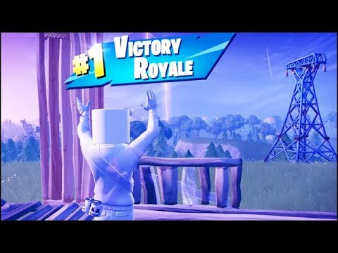 Fortnite Marshmello Skin Gameplay (11 Kills Solo Win Victory Royale) - Battle Royale