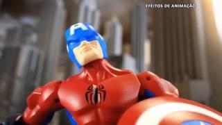 boneco marvel super hero mashers hasbro