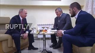 Russia: Putin congratulates Khabib on 'convincing' victory against McGregor