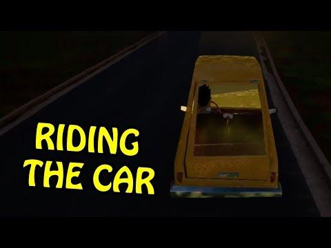HELLO NEIGHBOR DRIVING PLAYERS CAR