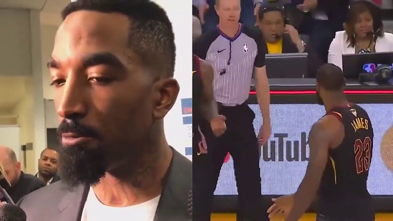 027a911bbf9 JR Smith Explains why he run away with ball in Game 1 of NBA Finals 2018