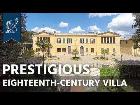 Prestigious eighteenth-century villa in Siena   Tuscany, Italy - Ref. 0596