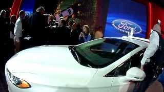 Ford Fusion Hybrid LiDAR Research Car Walkaround Driverless Future 12-12-13