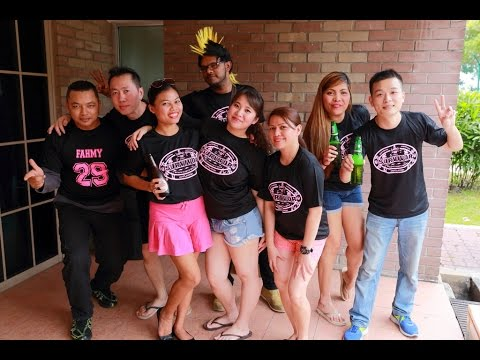Team Building Games (Lawry's Staff Party 2015)