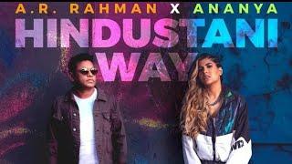 Hindustani Way Teaser Cheer4india Ananya AR Rehman