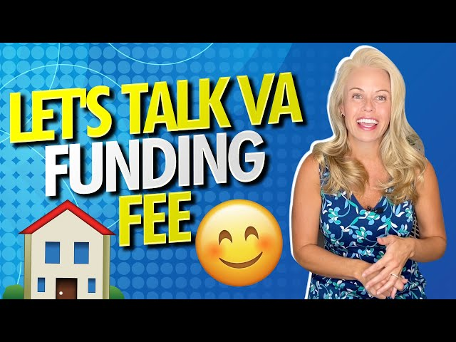 Let's Talk The VA Funding Fee -  The VA Home Loan Process For VA Loan First Time Home Buyers 🏡