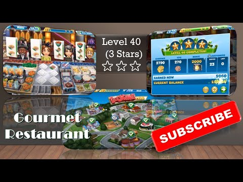 【Cooking Fever】Hell's Kitchen_Level 40 (3 Stars)