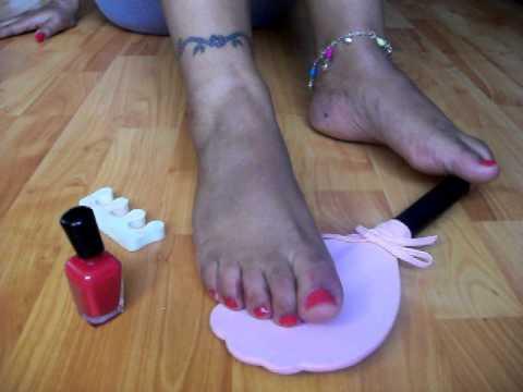 sex-school-black-painted-toenail-fetish-teen