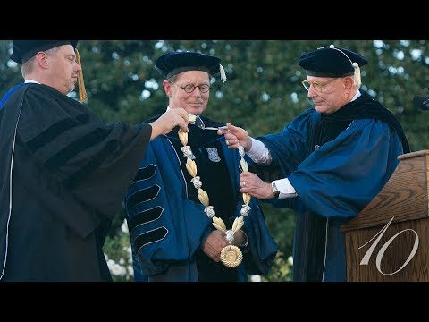The Installation of Vincent E. Price as 10th President of Duke University