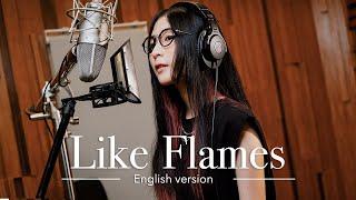 MindaRyn - Like Flames (English version) | Lyrics Video