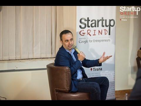 Gazmend Haxhia (A.S.G GROUP) at Startup Grind Tirana