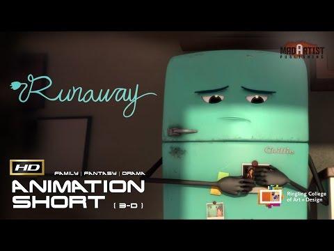 "CGI 3D Animated Short Film ""RUNAWAY"" Emotional Cute Kids Animation Cartoon by Ringling College"