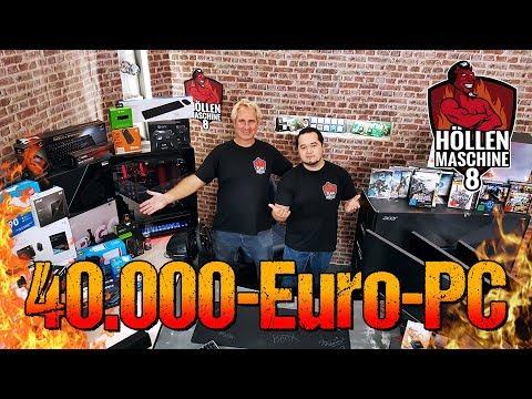 40.000€-GAMING-PC Gewinnen! ALLE Komponenten Der HÖLLENMASCHINE 8