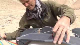 Powertraveller powergorilla & solargorilla Vs Mark Anstice in the Taklamakan Desert