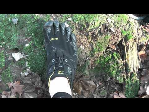 Courir avec des chaussures de trail minimalistes : les Fivefingers spyridon