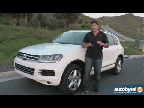 2012 Volkswagen Touareg Test Drive & SUV Review