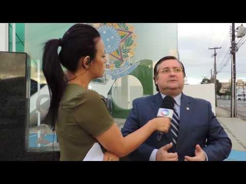 Entrevista concedida a TV Correio sobre o Mutirão Nacional da Conciliação promovido pelo Creci-PB