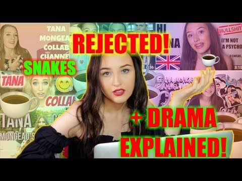 Reacting to Tana Mongeaus Collab Channel TRASH & SPILLING TEA *exposed*