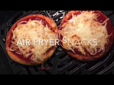 Air fryer snacks – Less than 10 minutes recipes- Vegetarian