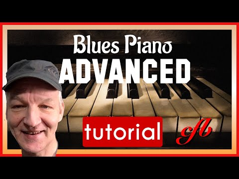 Beautiful Slow New Orleans Blues Piano lesson inc. chords and licks.