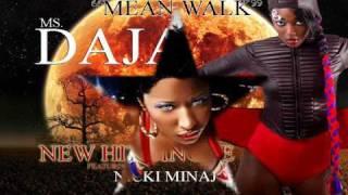 "MissDaja ""MEAN WALK"" Featuring  Nicki Minaj"