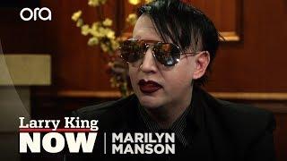 Video Marilyn Manson: I've Been Blamed For 36 School Shootings | Larry King Now download MP3, 3GP, MP4, WEBM, AVI, FLV Maret 2018