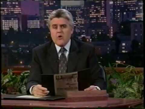 Jay Leno - Headlines - 2000