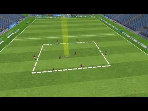 3D - Position Game - (6+1) v 2 - FC Barcelona