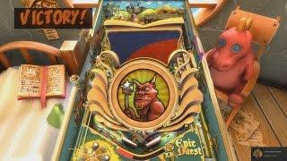 Pinball FX2 - Epic Quest Wizard mode run plus achievement (20 minutes)