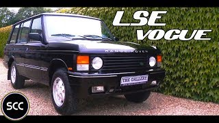 LAND ROVER RANGE ROVER 4.2 LSE VOGUE 1993 - Modest test drive - Engine sound   SCC TV