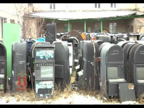 Игровые автоматы, изъятые полицейскими г. Красноярска