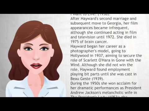 Susan Hayward - Wiki Videos